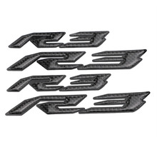KODASKIN Motorcycle 3D Raise R3 Emblem Stickers Decal for YAMAHA YZF