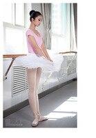 Custom Made Professional Tutu Girls Skirt Adult Gymnastics Leotard 6 Layers Hard Organdy Platter Ballet Costume
