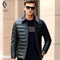2016 Brand Parkas Men's 90% White Duck Down Jacket Men Autumn Winter Fashion Duck Down Coat Windproof For Male Big Size