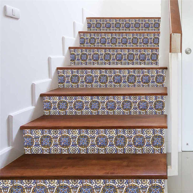 ... 3D Tiles Stairway Stickers Modern Wall Sticker for Bedroom Living Room Stair Decor Waterproof Decal DIY ... & Detail Feedback Questions about 3D Tiles Stairway Stickers Modern ...