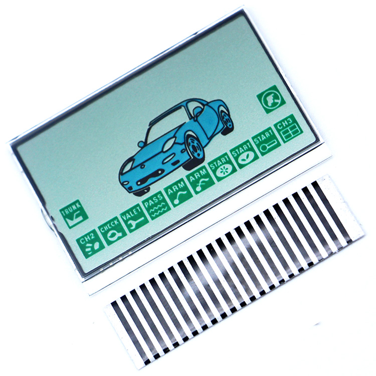 New Arrival FX-5 LCD Display Flexible Cable For KGB FX-5 Remote Controller FX5 Display With Zebra Stripes Free Shipping