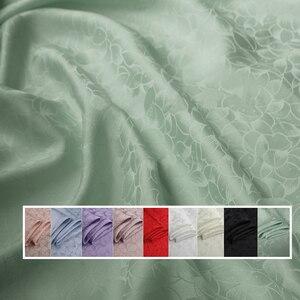Image 1 - כבד משי חומר לוטוס אקארד משי בד עבור שמלות חולצות משי ויסקוזה