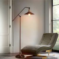 Nordic LED retro Floor lamps modern living room lights Iron art Floor light bedroom Fixtures Novelty Floor lighting