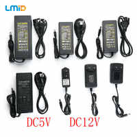 LMID Lighting Transformer LED Driver Switch Power Supply Adapter 1A 2A 3A 5A 8A 10A 110-265V To DC12V DC5V For LED Strip
