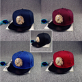 2016 New Golden Indians pattern Baseball Caps For Men And Women Adjustable Snapback Hat Hip Hop Flat-Brim Net Cap Bone Sun Hat