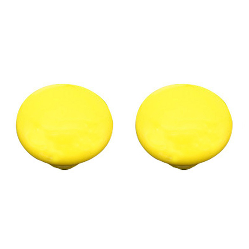 New Pack of 2 Ceramic Door Drawer Wardrobe Cupboard Handle Pull Knobs (Diameter:1.30 Inch)