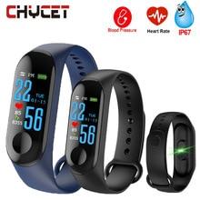 Smart группа крови Давление M3 Фитнес трекер IP67 плавание Водонепроницаемый gps трекер монитор сердечного ритма Smartband Для мужчин Для женщин