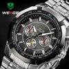 WEIDE Luxury Brand Full Steel Men Watch Analog Fashion Mens Quartz Watch Business Watches Men Watches relogio masculino 2017