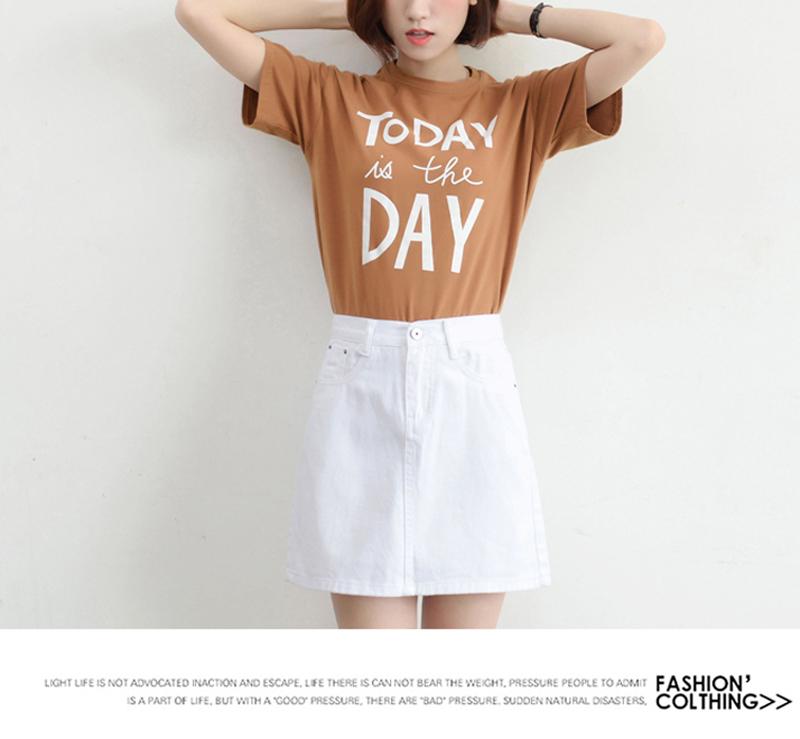 Lucyever Fashion Korean Summer Women Denim Skirt High Waist Black Mini Skirts Package Hip Blue Jeans Harajuku Plus Size Cotton 30
