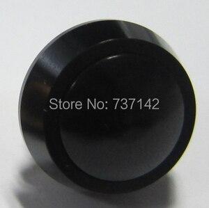 ELEWIND 12 мм купольная головка черного цвета алюминиевый анодированный кнопочный переключатель (PM121B-10/J/A/черный цвет)