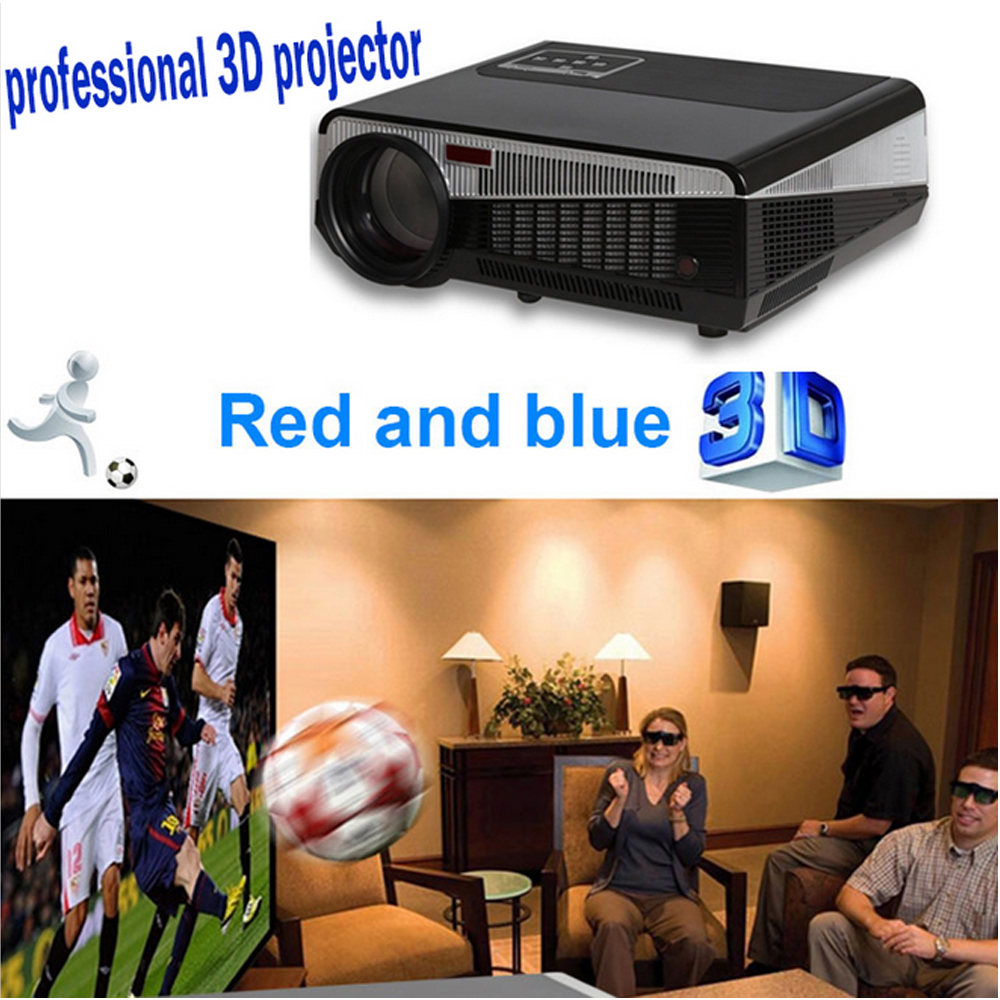Poner Saund Full Hd New Mini Projector Proyector Led Lcd: Original Poner Saund LED 3D Projector HDMI Home Theater