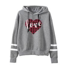 hoodies harajuku womens clothing gothic korean love casual print pullovers streetwear sweatshirt 2019 new girls