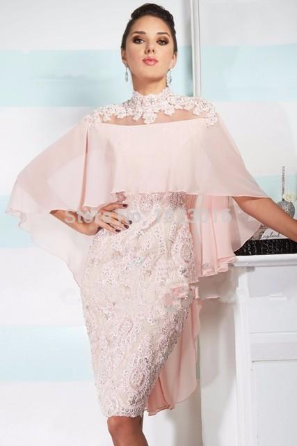 Rosa 2017 Mãe Da Noiva Vestidos Bainha Chiffon Lace ver Através de Vestidos de Festa de Casamento Vestido de Mãe Para O Casamento Com jaqueta