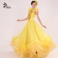 flamenco skirt Adults Spanish Dancer Flamenco Dancing Ladies Fancy Dress Costume Sizes S 3XL