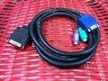 Nueva 1.5 M C2T KVM Monitor de Video Cable 06P4792 00N6954 00N7004 para IBM X330 X335 SERIE Servidor