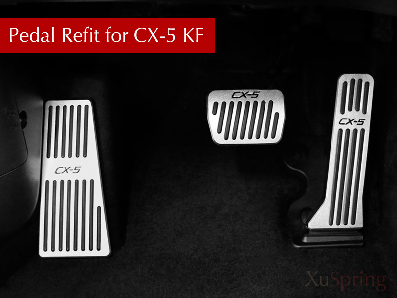 Auto Styling Refit Beschleuniger Öl fußstütze Pedal Platte Kupplung Gas Pedal Für Mazda CX-5 CX5 2017 2018 AT MT LHD RHD