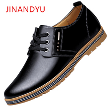Men Flats Brown Mens Black Leather Dress Shoes Casual Luxury Oxford Lace Up Spring Summer Leisure Business Male Footwear 2019 2018 genuine leather shoes casual lace up business flats spring black solid shoes luxury trainers summer male adult shoes