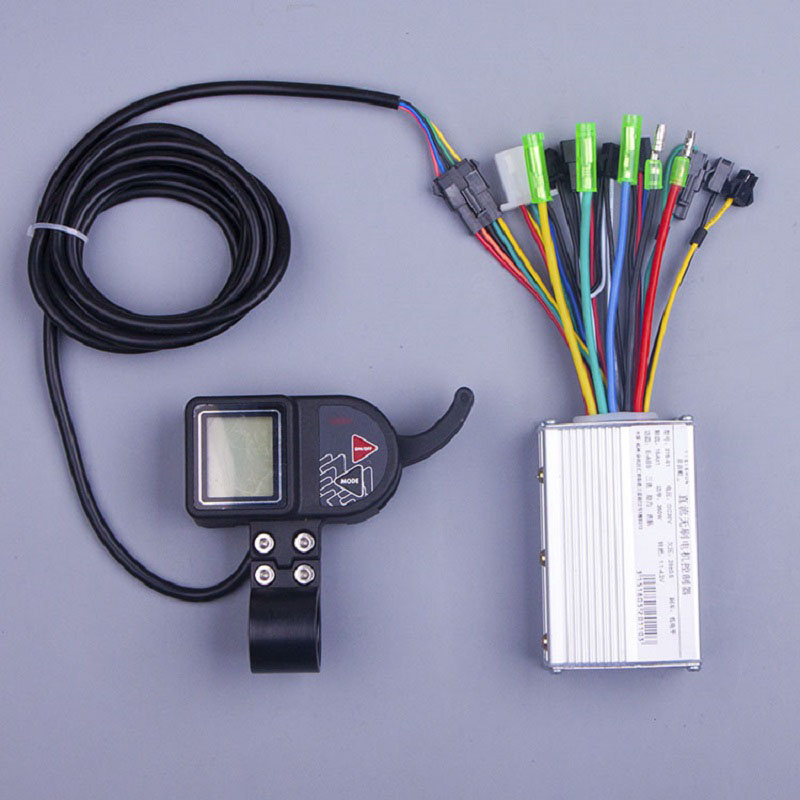 E Bike Speed Controller 24V 250W Bldc Motor Controller Thumb Throttle Lcd Display font b Electric
