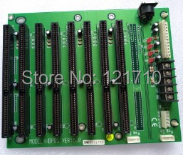 Industrial equipment baseplate HBP8S VER 6.0 8*ISA interface evoc industrial equipment board epi 1816vl2na ver c00 c10 epi 2 0 dual network interface