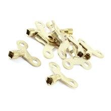 Бытовые Золото Тон Металла кран водопроводной воды ключ 6.4×6.4 мм 10 шт.