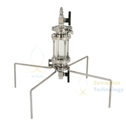 70g Closed Glass Column Pressurized Extractors BHO Extractor kit.