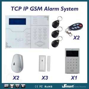 Image 5 - 433/868 mhzネットワークalarmaシステムワイヤレスtcp/ip gsm盗難alarmeホームシステム、web ieとアンドロイド/ios app制御