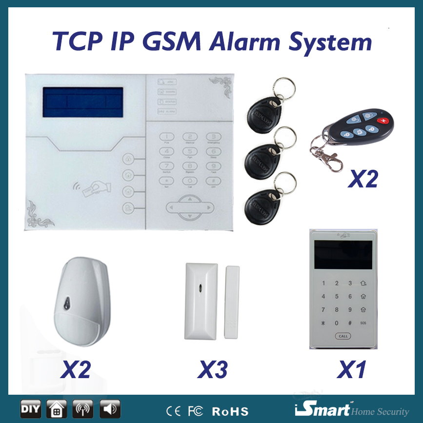 Image 5 - 433/868MHz Network Alarma Systems Wireless TCP/IP GSM Burglar Alarme Home System, Web IE and Android/IOS APP Control-in Alarm System Kits from Security & Protection