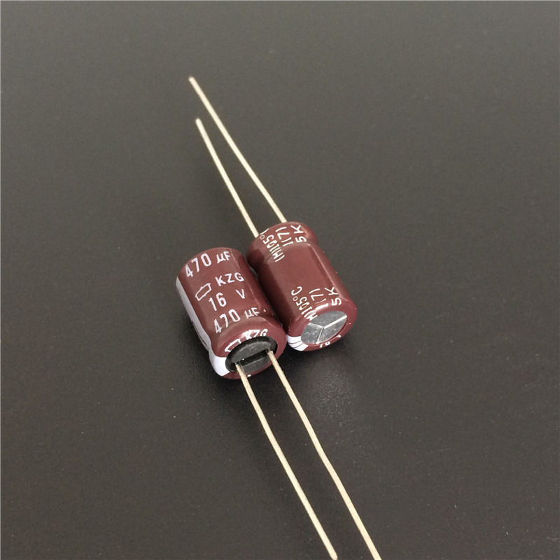 10pcs 470uF 16V Nippon Chemi-Con NCC KZG Series 8x12mm Ultra Low ESR 16V470uF Motherboard Capacitor