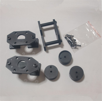 PROXXON MF70 CNC NEMA 17 stepper motor conversion kit  Black anodized  NEMA17 PROXXON MF70 Nema 17 stepper MOTOR MOUNTING KIT