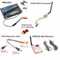 RC FPV Combo System 5.8Ghz 5.8g 600mw ts5828 Mini Transmitter RC832H Receiver Monitor for SJ4000 F450 QAV250 Racing drone