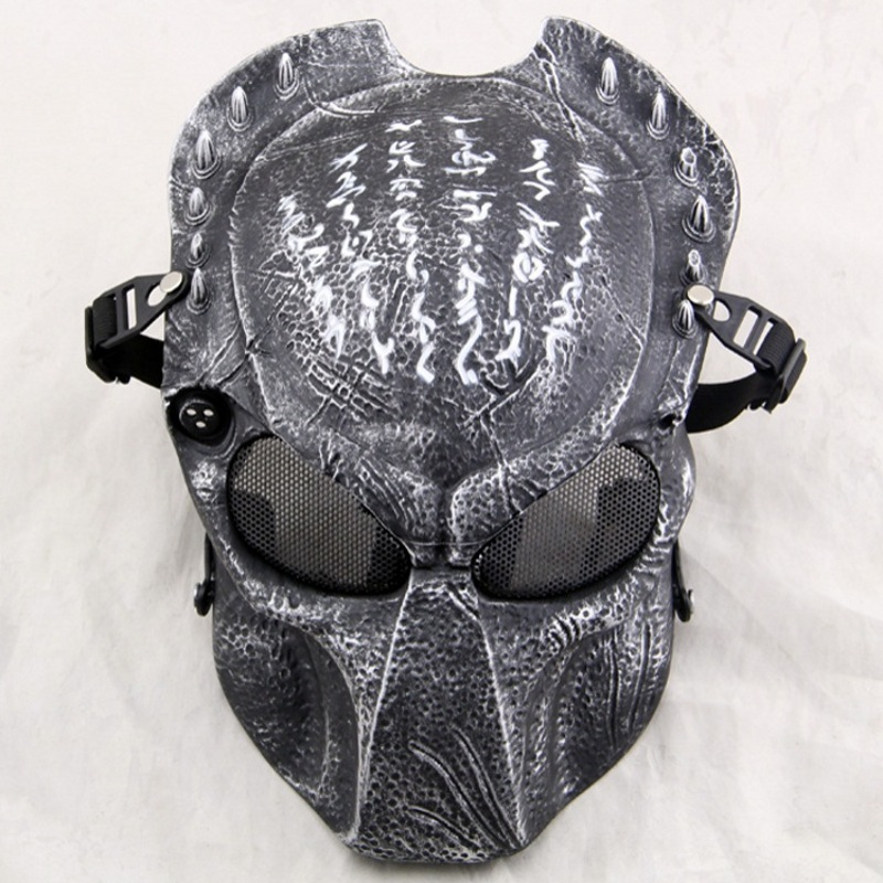 ZJZ04 Predator Wolf 2.0 Tactical Paintball Protective Full Face Airsoft Mask Military Army Wargame Cosplay Halloween Party
