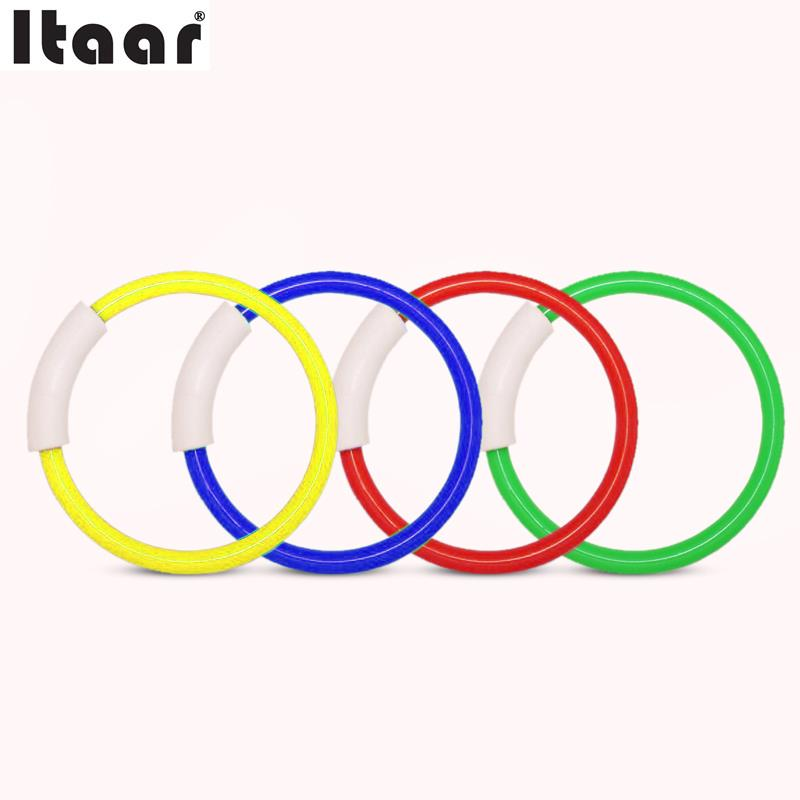 4PCS Underwater Swimming Pool Ring Relaxing Game Swim Toy Gifts Children Kids