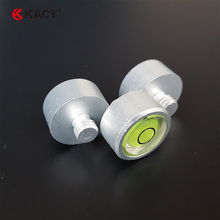 Free shipping High precision round blisters, 10 metal level, total station and level bubble