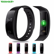 QS80 Bluetooth Smart Band Bracelet Sport Wristband Heart Rate Fitness Tracker IP67 Message Reminder for IOS