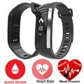 M2 originais banda inteligente pressão arterial de oxigênio oxímetro de pulso heart rate monitor de fitness esporte pulseira pedômetro fitbit pk xiaomi banda