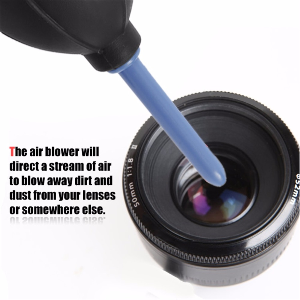 Kain Pembersih Sikat Dan Blower Udara 1 Set Digital Kamera Cleaning Canon Merah Kit Cleaner Air Debu Fotografi Profesional Di Dari Elektronik