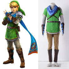 Anime The Legend Of Zelda Cosplay Costume Set Fighting Uniform Set With Accessories For Halloween 3 Colors Available