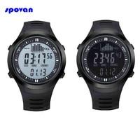 Montre Homme SPOVAN Sport Watch Waterproof Digital Barometer Thermometer Altimeter Men Military Watches Clock Man Reloj Hombre