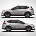TAIYAO  автомобильный Стайлинг  спортивный автомобиль  Наклейка для Toyota 2013-2018 RAV4  гибридный сапфир  автомобильные аксессуары и наклейки  Авто Н...