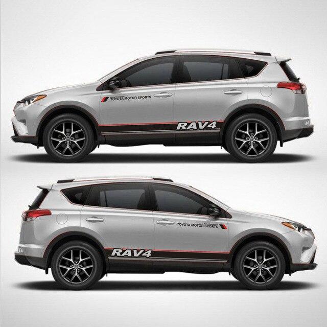 Taiyao Car Styling Sport Car Sticker For Toyota 2013 2018 Rav4