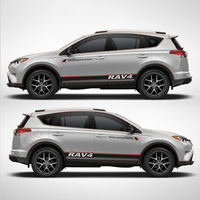 TAIYAO car styling sport car sticker For Toyota 2013 2018 RAV4 Hybrid Sapphire car accessories and decals auto sticker