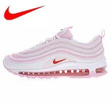 82934672d Nike AIR MAX 97 OG Cherry Powder Bullet Full Palm Cushion Running Shoes  Women