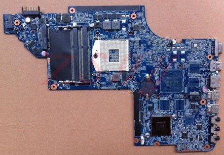 все цены на For HP DV6 DV6-6000 laptop motherboard 641485-001 HM65 free Shipping 100% test ok онлайн