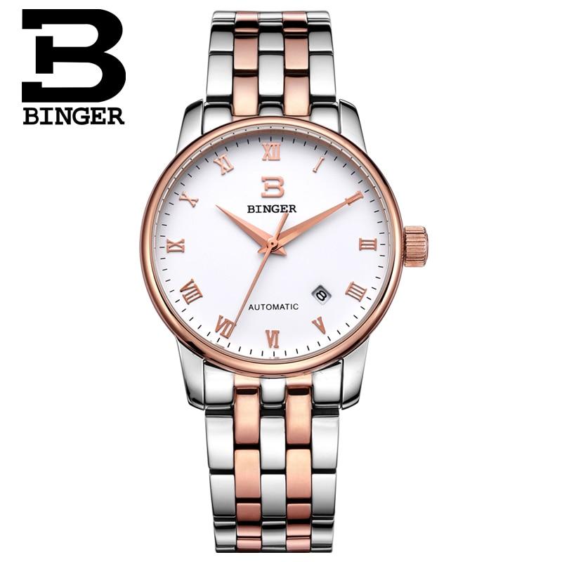 Svájc órák férfi luxus márka18K arany Karóra BINGER business - Férfi órák - Fénykép 2
