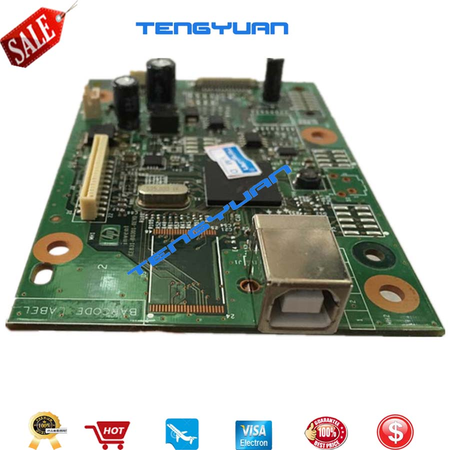 Original New CE831-60001 Formatter Board PCA Assy logic Main Board MainBoard mother board for HP M1136 M1132 1132 1136 M1130 new original laser printer logic board for hp m1216 m1212 m1213nf m1212nf ce832 60001 1213 1216nf 1212 formatter board mainboard