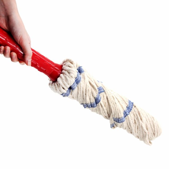 Online Shop East Spin Twist Mop Floor Cleaning Mops With Cotton Yarn