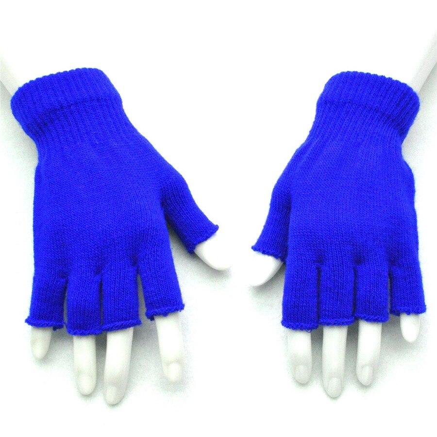 Damen-accessoires Armstulpen Neue Mode Winter Finger Handschuhe Strick Handschuh Kurz Half-finger Handschuhe Weihnachten Der Zubehör Arm Wärmer Kurze Handschuhe ZuverläSsige Leistung