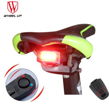 WHEEL UP MTB Road Lamp Bicycle Wireless Anti-theft Remote Control Bike Lights Waterproof Taillights Cycling Accessories