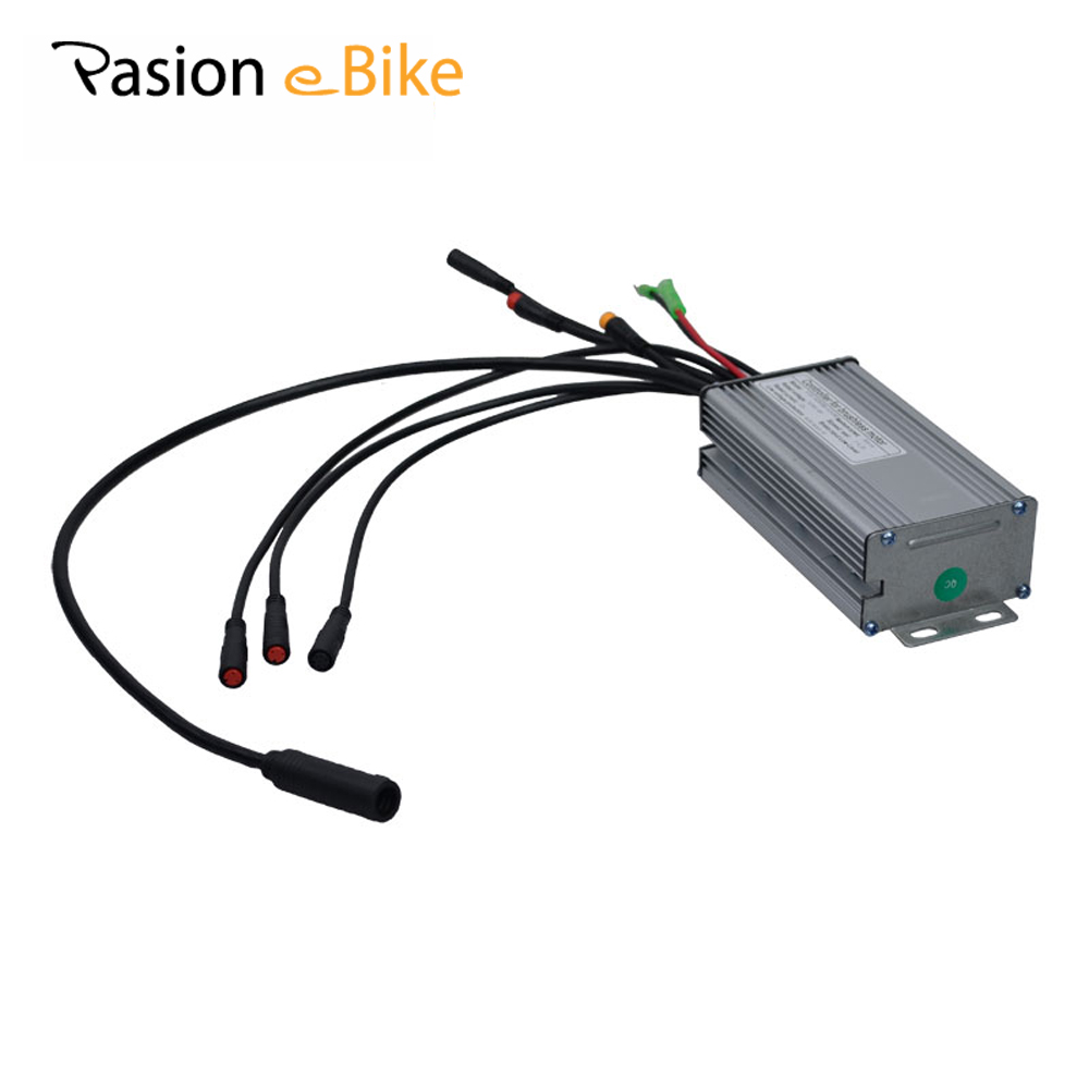 PASION E BIKE 36V 48V 350W Electric Bicycle Controller DC Sine Wave Brushless Controller Sondors e Bike Controllers 25A Only USA 36v 48v 450w electric bicycle e bike