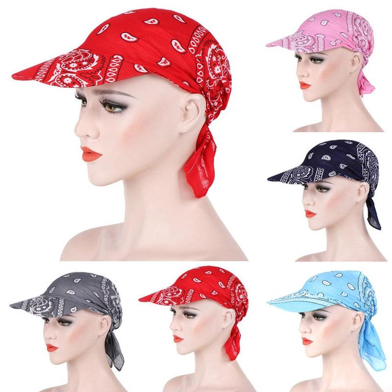 Spring Summer Women Sun Hat Turban 11pcs High Quality Crystal Women's Printed Head Scarf Hat Visor Hat Topee